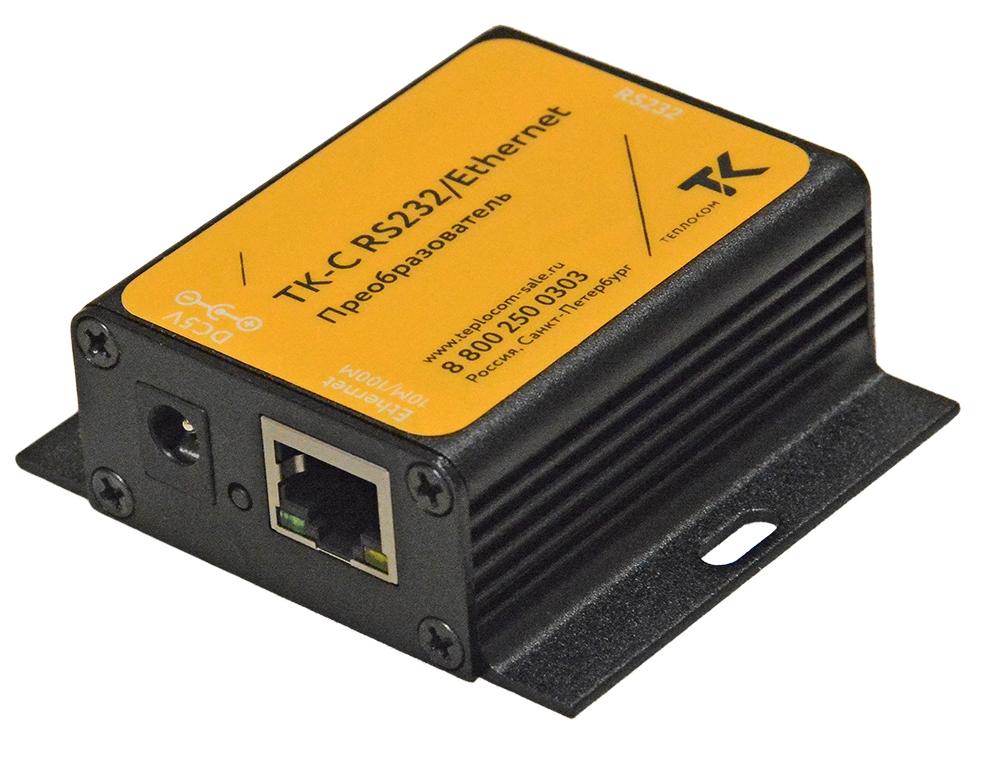 Преобразователь интерфейсов RS232 в Ethernet