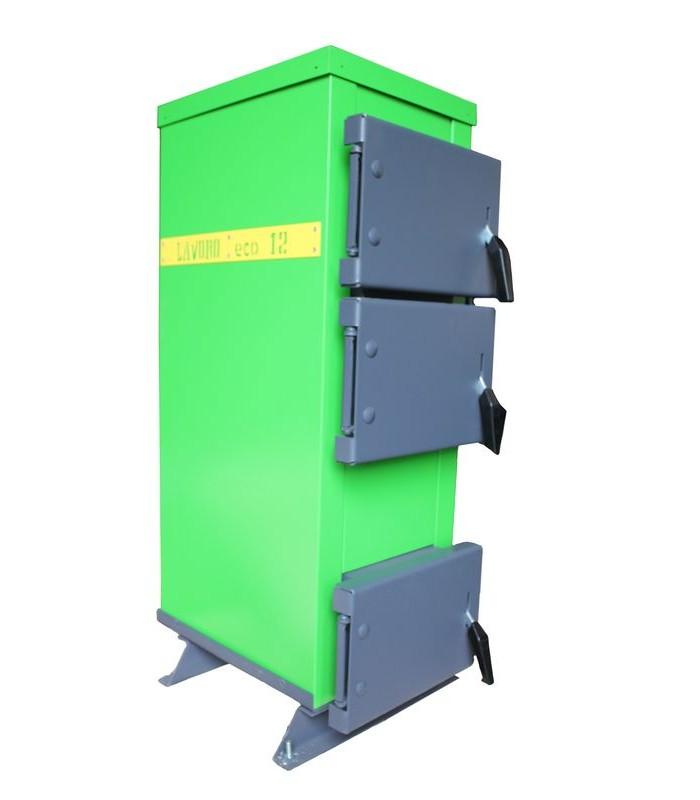 Котел твердотопливный длительного горения Lavoro Eco C 12-new (12 кВт)
