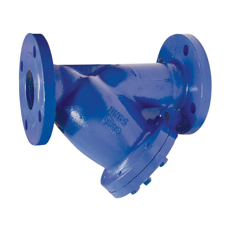 АДЛ, Фильтр чугунный IS16-050, Ру16, ф/ф Тmax=300°C, со слив.пробкой (ст.арт.103792)