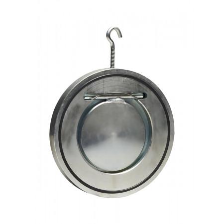 АДЛ, Клапан обратный поворотный ГРАНЛОК ЗОП-050, Ру16, Тмакс=110°С