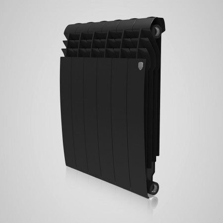 Радиатор биметаллический Royal Thermo BiLiner Noir Sable 500/87 12 секций