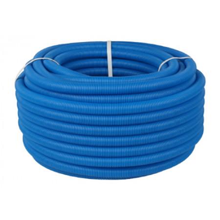 Труба гофрированная STOUT 25, цвет синий