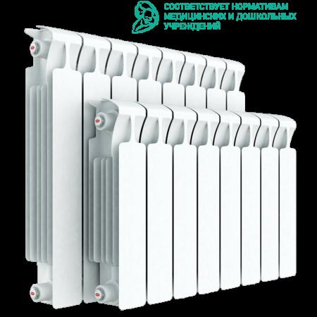 Радиатор биметаллический RIFAR MONOLIT 350 8 секций