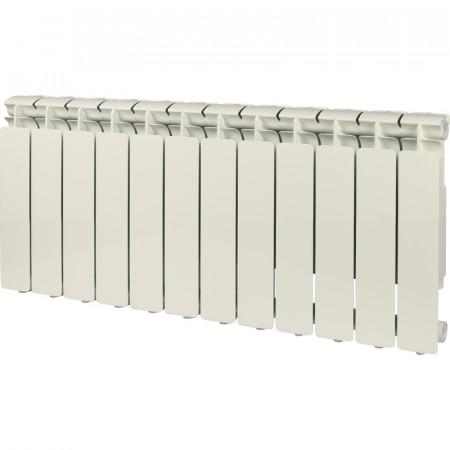 STOUT Bravo 350 12 секций радиатор алюминиевый боковое подключение