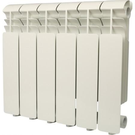 Global ISEO 350 4 секций радиатор алюминиевый боковое подключение