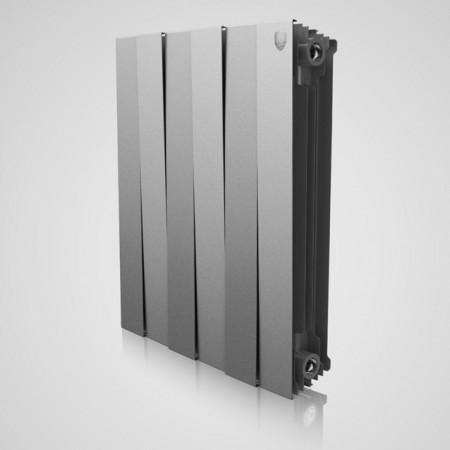 Радиатор биметаллический Royal Thermo PianoForte Silver Satin 500/100 8 секций