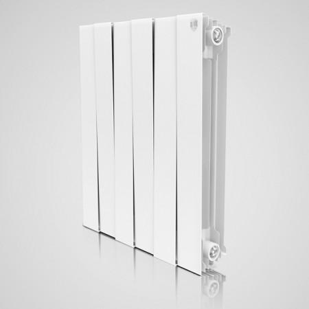 Радиатор биметаллический Royal Thermo PianoForte Bianco Traffico 500/100 6 секций