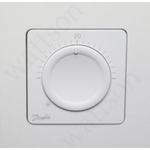 DANFOSS, Термостат комнатный дисковый Icon встраиваемый 230 В