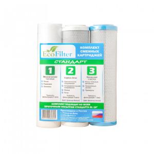 Комплект сменных модулей для мягкой воды Стандарт К1 EcoFilter
