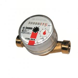 Счетчик горячей воды WFW20.D110 Ду = 15 мм, L = 110 мм без штуцеров