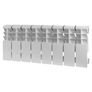 Радиатор алюминиевый ROMMER Plus 200, 12 секций