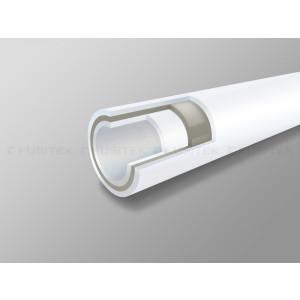 FUSITEK, Труба PN20 FASER SDR 7.4 (W) S3.2 — 25 х 3,5 (4 м, стекловолокно)