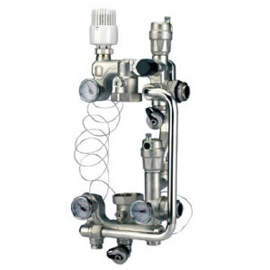 VALTEC, Насосно-смесительный узел без насоса, монтажная длина насоса 180 мм