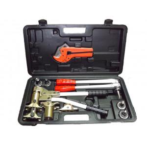 STOUT, универсальный комплект механического инструмента для труб PEX и аксиальных фитингов (16, 20, 25, 32)