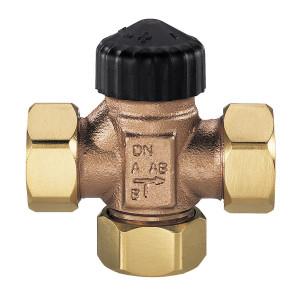 """HEIMEIER, Трехходовой смесительный клапан (плоские прокладки) DN32 1 1/4"""""""