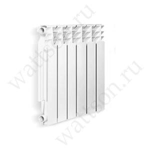Радиатор литой алюминиевый Wattson AL Элемент 500/80 8 секций