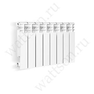 Радиатор литой алюминиевый Wattson AL Элемент 350/80 12 секций