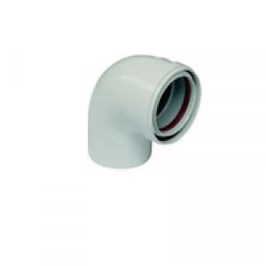 BAXI, 60/100 Коаксиальный отвод 90 без муфты