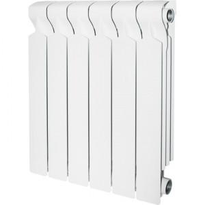 Радиатор алюминиевый STOUT VEGA 500, 6 секций