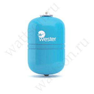 WESTER, Гидроаккумулятор WAV 12 л / 10 бар (сменная мембрана)
