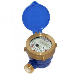 Счетчик воды холодной воды мокроходный ВКМ-15 + к-т штуцеров без обратного клапана 2016 г.