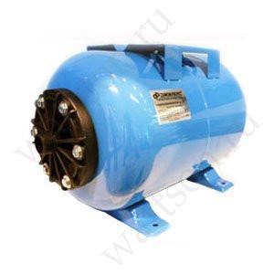Гидроаккумулятор ДЖИЛЕКС 24 ГП К, пластиковый фланец с латунной закладной