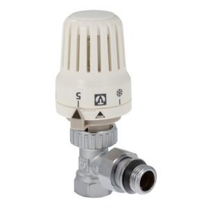 """VALTEC, Комплект: клапан для радиатора угловой 1/2"""" + термостатическая головка"""