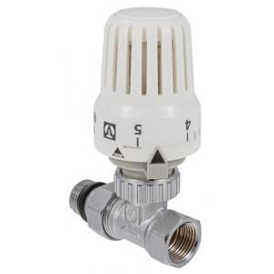 """VALTEC, Комплект: клапан для радиатора прямой 1/2"""" + термостатическая головка"""