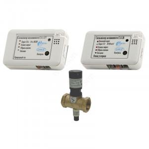 ЦИТ, Сигнализатор загазованности САКЗ МК-2-1 Дн 32 НД бытовая (СО+СН), клапан КЗЭУГ