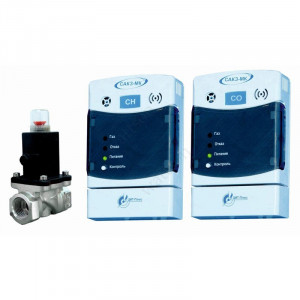 ЦИТ, Сигнализатор загазованности САКЗ МК-2-1А Дн 20 НД бытовая (СО+СН), клапан КЗЭУГ-А