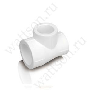 Тройник FUSITEK PPR белый - 32 x 20 x 20
