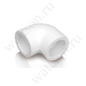 Угольник FUSITEK Угол 90° PPR белый - 110