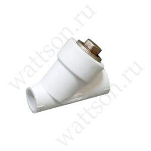 Фильтр FUSITEK наклонный PPR белый 32