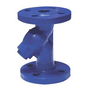 АДЛ, Фильтр чугунный IS16-025, Ру16, ф/ф Тmax=300°C, со слив.пробкой