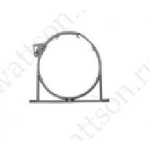 Хомут ПП для канализационных труб СЕРЫЙ, 50 мм