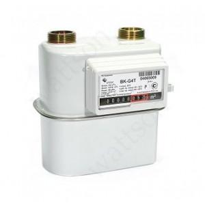 Счетчик газа ELSTER  с механической коррекцией ВК G 4 Т V1.2 (110 мм) справа налево 2019 г.