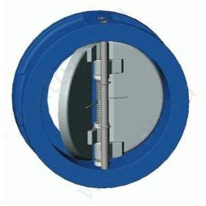 TECOFI, Обратный клапан м/ф двухстворчатый CB 3448 (3440) Ду 050