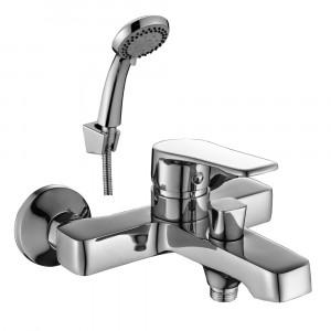 Смеситель DECOROOM DR39036 одноручный  для ванны с коротким изливом