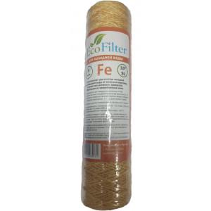 """Картридж Ferum SL 10"""" нить 5 мкн (обезжелезивание) Eco Filter"""