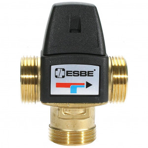 """Клапан термостатический ESBE VTA 322, 20-43°C, НР 1"""", Kvs=1.6"""