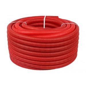 Труба гофрированная STOUT 32, цвет красный