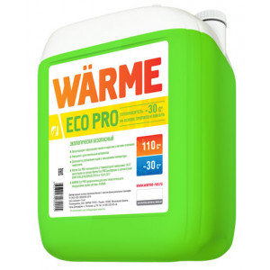 Теплоноситель Warme Eco Pro 30 (канистра 10 кг)
