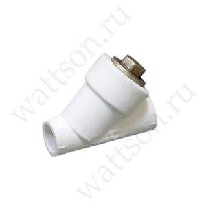 Фильтр FUSITEK наклонный PPR белый - 20