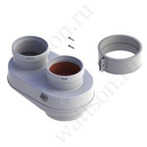 BAXI, Адаптер для подключения раздельных труб, металл