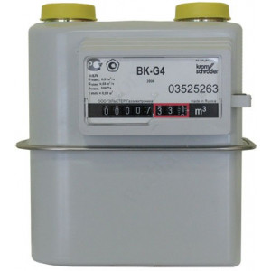 ELSTER Счетчик газа ВК G 4 (110 мм) слева направо 2019 г.