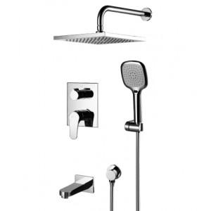 Смеситель встраиваемый Lemark Shift LM4322C для ванны и душа