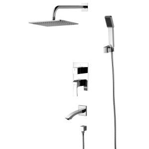 Смеситель Lemark Unit LM4522C для ванны и душа, встраиваемый