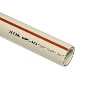 Ekoplastik ППР труба FIBER BASALT PLUS S3,2 63x8,6 (4,0м)