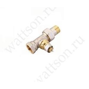 DANFOSS, Клапан термостатический для радиатора RA-N, Ду 10, Угловой, никелированный