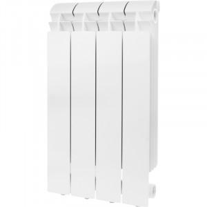 Global VOX R 500 4 секции радиатор алюминиевый боковое подключение